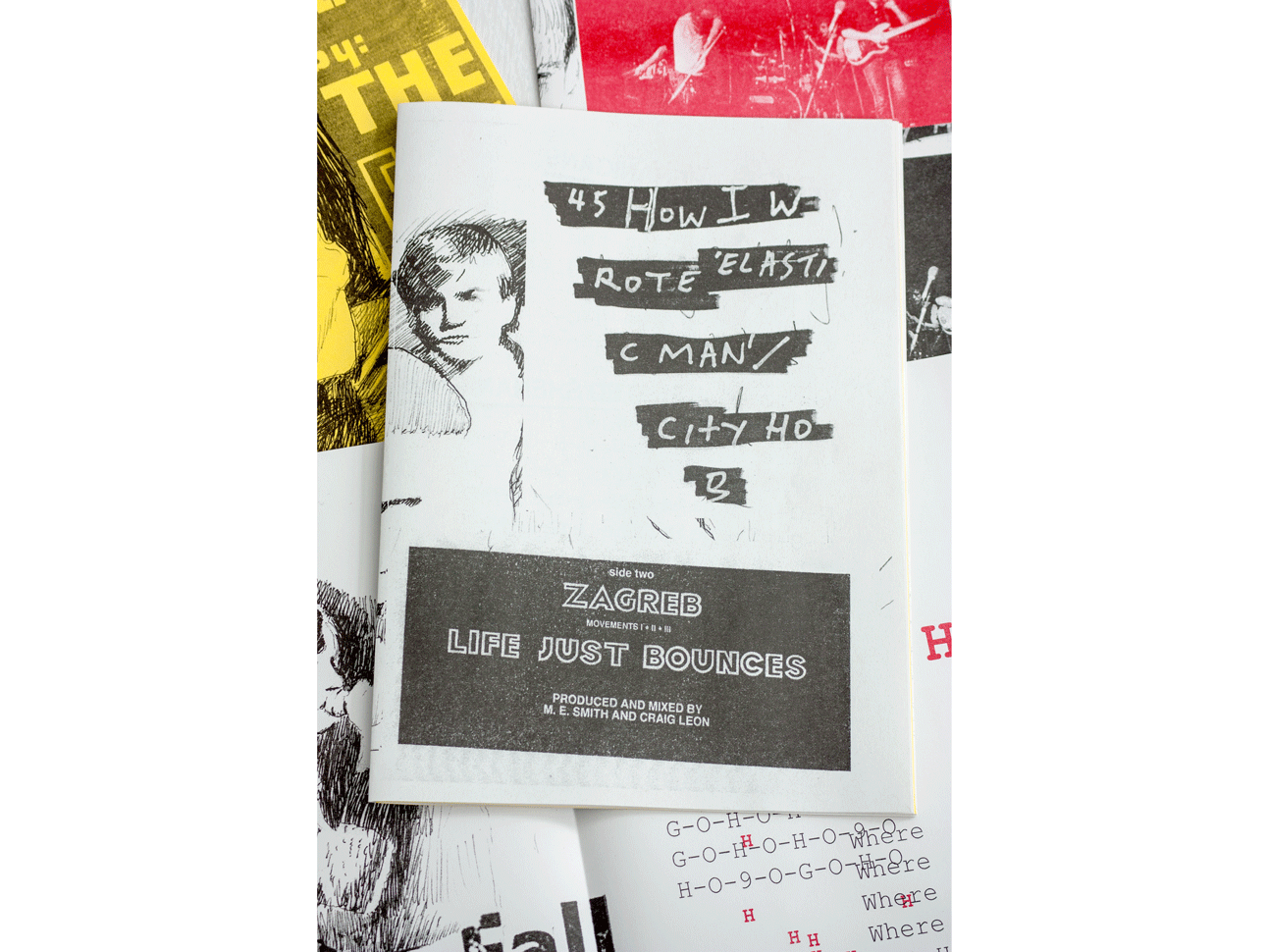 The Neighbourhood of Infinity fanzine about The Fall (Risograph)