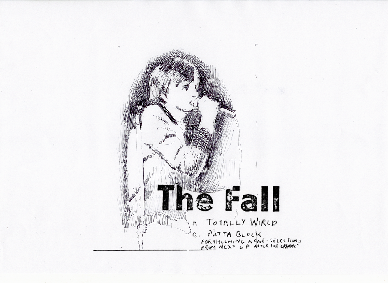 David Powell The Fall MES 2019 drawing